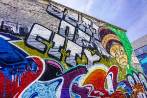 BOC crew, murale senza titolo, 2013, via Trecate. Fotografia di Roberto Cortese, 2017 © Archivio Storico della Città di Torino