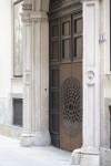 Porta d'accesso al MAO - Museo d'Arte Orientale. Fotografia di Edoardo Vigo, 2012