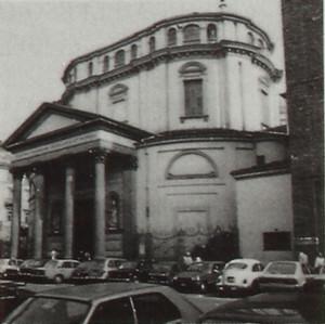 Facciata del Santuario della Consolata