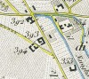 Cascina Brusà. Antonio Rabbini, Topografia della Città e Territorio di Torino, 1840. © Archivio Storico della Città di Torino