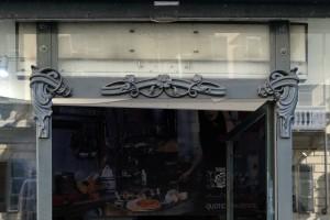 Stars & Roses, ristorante, particolare dell'esterno, 2017 © Archivio Storico della Città di Torino
