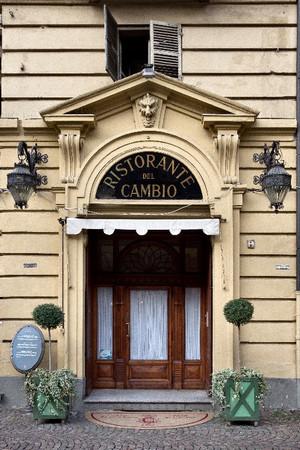 Ristorante del Cambio, ingresso. Fotografia di Mattia Boero, 2010 © MuseoTorino.