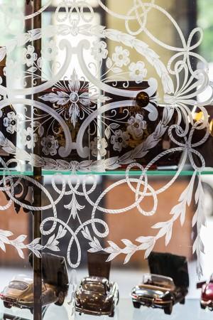 Confetteria Avvignano, interno, part. della vetrina, 2016 © Archivio Storico della Città di Torino