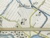 Cascina Nobella. Antonio Rabbini , Topografia della Città e Territorio di Torino, 1840. © Archivio Storico della Città di Torino