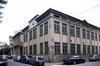 L'edificio della ex Pastiglie Leone su corso Regina Margherita angolo via Vicenza. Fotografia del Comitato Parco Dora, 2010.
