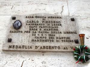 Lapide dedicata a Pizzorno Carlo (1922 - 1944)