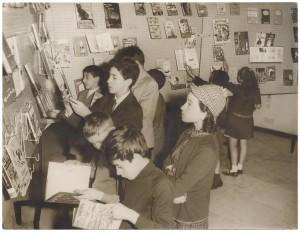 Nuovo edificio della Biblioteca civica, spazio ragazzi, post 1960. Biblioteca civica Centrale © Biblioteche civiche torinesi