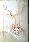 Francesco Paciotto. Progetto per la Cittadella di Anversa 1597. © Archivio di Stato di Torino.