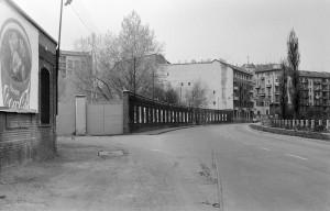 Ex area Italgas e lungo Dora (vista verso ovest). Fotografia di Paolo Arlandi, 1982