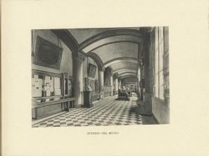 Mole Antonelliana, interno del Museo del Risorgimento, 1908. © Archivio Storico della Città di Torino