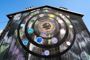 Corn79, murale senza titolo, 2015, borgata Tesso. Fotografia di Roberto Cortese, 2017 © Archivio Storico della Città di Torino