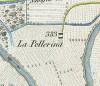 Cascina Pellerina. Topografia della Città e Territorio di Torino, 1840. © Archivio Storico della Città di Torino