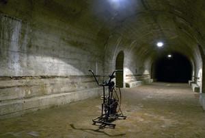 Il rifugio antiaereo di piazza Risorgimento. Fotografia di Bruna Biamino, 2010. © MuseoTorino