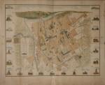Pianta topografica della città di Torino, 1895 circa