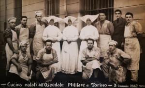 Cucina malati poveri dell'ospedale militare di Torino, 3 gennaio 1942