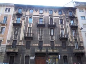 Giuseppe Maria Giulietti, Casa Rama, via Cibrario 65, 1912. Fotografia L&M, 2011.