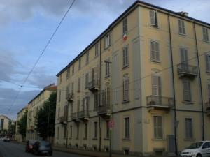 Veduta del quartiere da via Nicola Fabrizi ang. Via Pietrino Belli. Fotografia di Maria D'Amuri, 2011