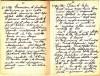 Diario dell'Istituto Lorenzo Prinotti, 1943. ASCT, Fondo Prinotti cart. 31 fasc. 11, 10, pp. 34-35. © Archivio Storico della Città di Torino