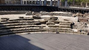 I resti del teatro romano (1). Fotografia di Plinio Martelli, 2010. © MuseoTorino.