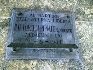 Lapide dedicata a Martorelli Renato (1895 - 1944)