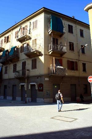 Locali commerciali, già Osteria del Moro
