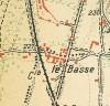 Cascina Le Basse. Istituto Geografico Militare, Pianta di Torino e dintorni, 1911, © Archivio Storico della Città di Torino