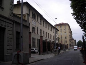 Fabbricato in Corso Principe Oddone ora sede dell'Assessorato alla Sanità. Fotografia di Silvia Bertelli.