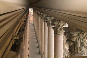 Alessandro Antonelli, Mole Antonelliana (colonnato, dettaglio), 1889. Fotografia di Fabrizia Di Rovasenda, 2010. © MuseoTorino.