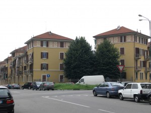 Case economiche municipali, vie Verolengo, Forlì, Carutti e Borsi