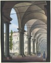 Interno dell'Accademia Militare, cromolitografia, 1820 ca. © Archivio Storico della Città di Torino