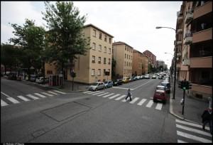 Veduta del 22° Quartiere IACP. Fotografia di Michele D'Ottavio, 2011. © MuseoTorino