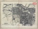 Pianta topografica della città di Torino, 1865 circa