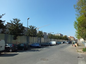 Ex stabilimento Lancia tra via Caraglio e via Lancia. Fotografia di Paola Boccalatte, 2014. © MuseoTorino