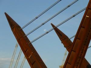 Ponte Amedeo IX. Fotografia di Fabrizio Diciotti, 2012
