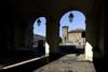 Scorcio di Castello di Porta Fibellona (Palazzo Madama, 1). Fotografia di Paolo Gonella, 2010. © MuseoTorino.