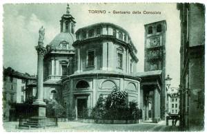 Santuario della Consolata, ante 1904, cartolina. Archivio Fabrizio Diciotti
