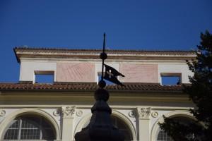 Orologio solare, Basilica di Superga, Chiostro