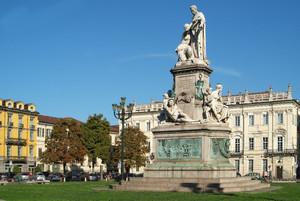 Monumento a Camillo Benso conte di Cavour