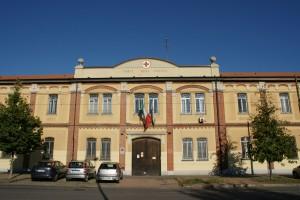 Particolare della facciata. Fotografia Giuseppe Beraudo, 2009