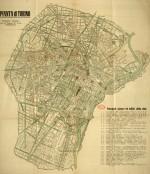Pianta di Torino, 1935 circa
