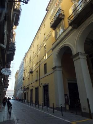 Via Palazzo di città verso piazza Castello. Fotografia di Paola Boccalatte, 2014. © MuseoTorino