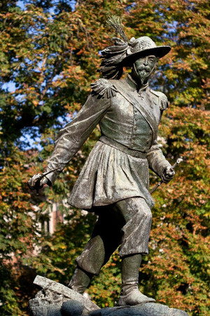 Giuseppe Cassano, Monumento ad Alessandro Ferrero La Marmora (particolare della statua), 1867. Fotografia di Mattia Boero, 2010. © MuseoTorino.