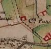 Cascina Pansa.  Carta delle Regie Cacce, 1816. © Archivio di Stato di Torino