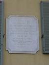 Lapide dedicata a Pietro Fortunato Calvi. Fotografia di Elena Francisetti, 2010. © MuseoTorino