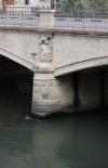 Particolare della pila del ponte Duca degli Abruzzi. Fotografia di Edoardo Vigo, 2012.