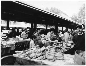 Mercato in via Madama Cristina © Archivio Storico della Città di Torino (ASCT, Fototeca, 11B12_067)
