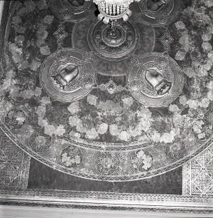 Pasticceria Romana Succ. Bass, Giulio Casanova, particolare del soffitto, in L'Architettura Italiana, n. 6, giugno 1920