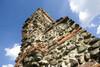 Resti delle mura romane presso la Porta Palatina (dettaglio). Fotografia di Marco Saroldi, 2010. © MuseoTorino.