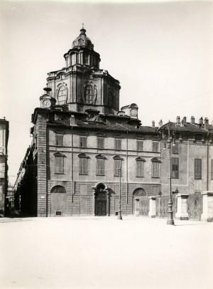 Chiesa di San Lorenzo. Fotografia di Mario Gabinio, 1930 ca. © Fondazione Torino Musei - Archivio fotografico