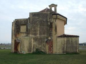 Prospetto Nord-Ovest della cappella Tarino. Fotografia di Gianfranco Ingardia, 2012.